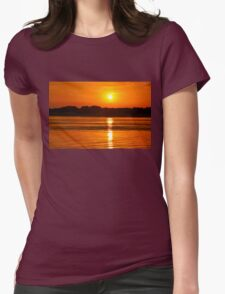 Orange Ripples on the Water T-Shirt
