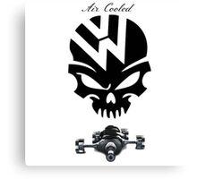 volkswagen logo air cooled Canvas Print