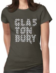 GLASTONBURY CND PEACE SIGN LOVE Womens Fitted T-Shirt