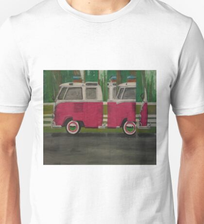 VW Bus Painting Unisex T-Shirt