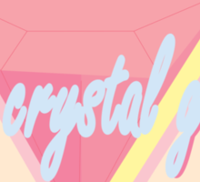 The Crystal Foxes Sticker