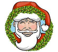 Holiday Santa Clause Photographic Print