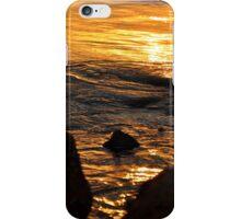 Golden Ripples iPhone Case/Skin