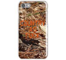 Country As Fuck - Camo iPhone Case/Skin