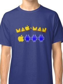 Mac-Man Android Ghost Chase Mashup Classic T-Shirt