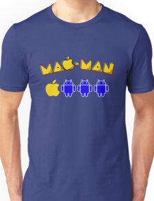 Mac-Man Android Ghost Chase Mashup Unisex T-Shirt