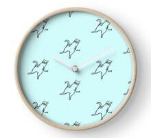 """Nice"" Cat Clock"