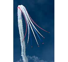 Red Arrows - Vertical Break Photographic Print