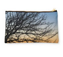 Gradient Sky in Winter Studio Pouch