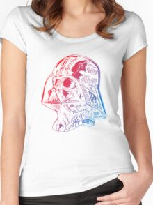 retro street Women's Fitted Scoop T-Shirt