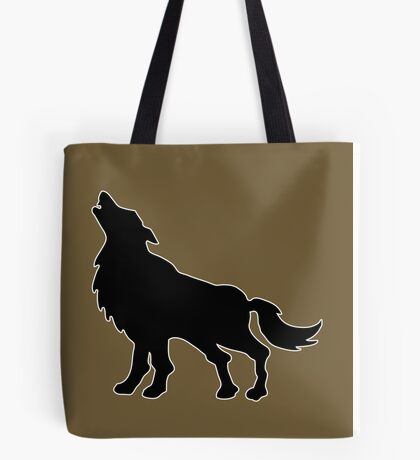 loup wolf  Tote Bag