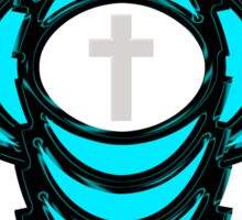 Abstract Holy Cross  Sticker