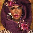 Violets 2 by Alga Washington