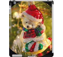 Antique Christmas Bear Ornament  iPad Case/Skin