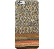 Navaho Style Rug - detail iPhone Case/Skin