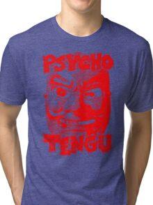 Psycho Tengu - Red Tri-blend T-Shirt