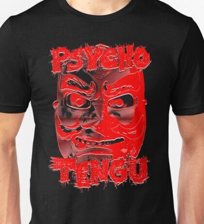 Psycho Tengu - Red/White Unisex T-Shirt