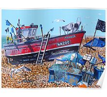 Tide out and Fish tales Poster