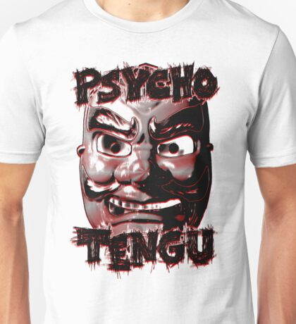 Psycho Tengu - Black/Red Unisex T-Shirt