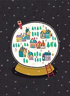 Christmas snow globe  by totallypic