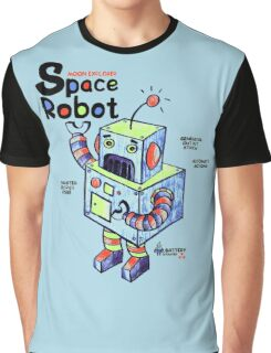 Space Robot Graphic T-Shirt