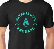 Standing Rock Water is Life No DAPL Unisex T-Shirt