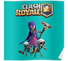 Clash Royal Witch Poster