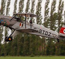 CASA 1.131E Jungmann 2000 G-BTDZ by Colin Smedley