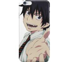 Anime: AO NO EXORCIST - Rin & Shiemi iPhone Case/Skin