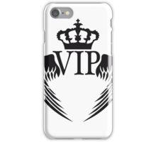 engel flügel könig krone king logo symbol wappen vip cool design wichtig promi  iPhone Case/Skin
