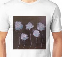 White Blossoms in the Darkness  Unisex T-Shirt