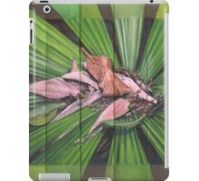 Fantail Palm Plateau (detail section) iPad Case/Skin