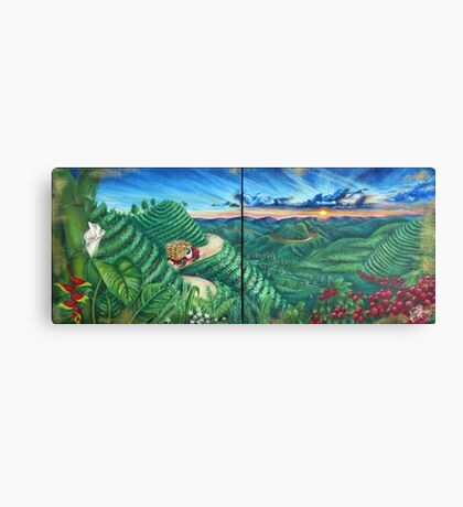 Aroma de mi Tierra  Canvas Print