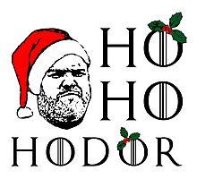Ho Ho Hodor Photographic Print