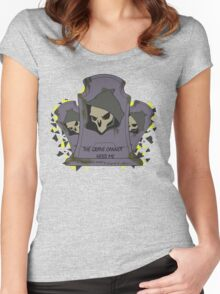 Fragment Reaper Women's Fitted Scoop T-Shirt