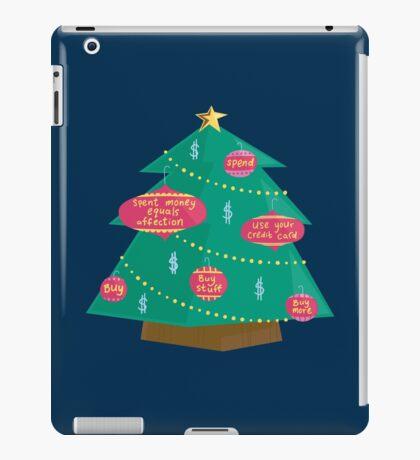 Capital Christmas tree iPad Case/Skin
