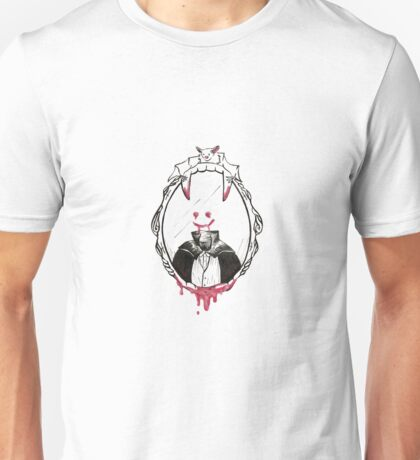 Dracula in the Mirror Unisex T-Shirt