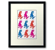 Rex on Rex on Rex Framed Print