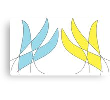 Carbuncle tails Topaz and Emerald Canvas Print