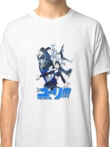 yuri!!! on ice (group version//blue) Classic T-Shirt