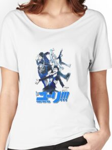 yuri!!! on ice (group version//blue) Women's Relaxed Fit T-Shirt