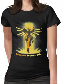 OVERWATCH MERCY Womens Fitted T-Shirt