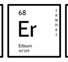 Funny Science  Sticker