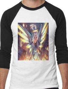 OVERWATCH MERCY Men's Baseball ¾ T-Shirt