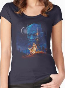 Throne wars is coming Women's Fitted Scoop T-Shirt