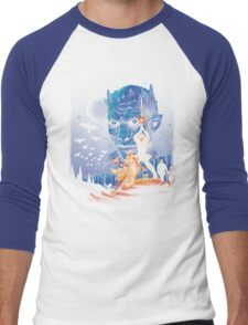 Throne wars is coming Men's Baseball ¾ T-Shirt