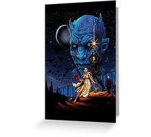Throne wars is coming Greeting Card
