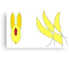 Abstract Topaz Carbuncle Canvas Print