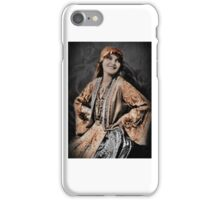 Dressed-up in Gypsy Costume iPhone Case/Skin