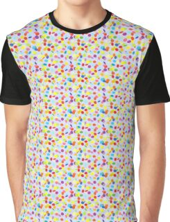 Flying confetti pattern Graphic T-Shirt